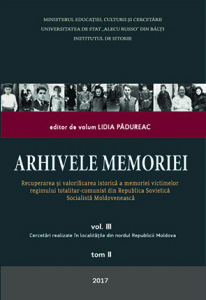 coperta_ARHIVELE MEMORIEI_vol III_tom II_final